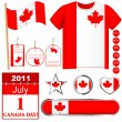 Canada Day. — Stock Vector #5969253