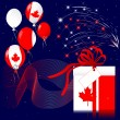 Stock Vector: CanadDay.