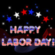 Happy Labor Day. - Stock Vector