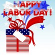 Labor Day. — Vector de stock