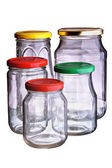 Glass jar — Stock Photo