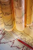 Graphs & Charts — Foto Stock