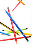 Multi-coloured pencils — Stock Photo