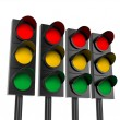 Traffic light — Stok fotoğraf