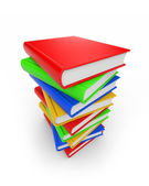 Stack of book — Stock Photo
