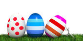 Man collect Easter egg — Stockfoto