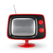 Stylish retro TV — Stock Photo