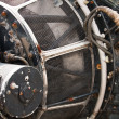 Details of aircraft engine — Stock Photo