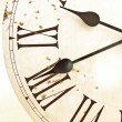 Face of old clock — Stock Photo #5692994