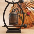 Small Asian gong — Stock Photo
