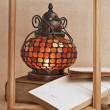 Royalty-Free Stock Photo: Old oriental lamps and old books