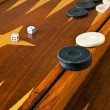 Backgammon — Stockfoto