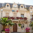 Town hall of Fleury in France — Stock Photo
