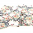 Pile of Kenyan currency — Stock Photo #6255795