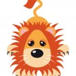 Lion Vector Illustration — Stock Vector