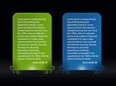 Web banner elements — Stock Vector