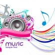 Music event background — Stock Vector #5471683