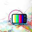 Vector television illustration - Stock Vector