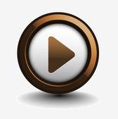 Music play icon — Stock Vector