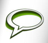 Speech icon — Stock Vector