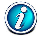 Information web icon — Stock Vector