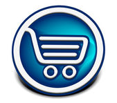 Shopping web icons — Stock Vector