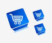 Vector shopping icons — Stock Vector