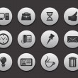 Stock Vector: Set of Computer Icons