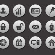 Set of Business Icons - Imagen vectorial