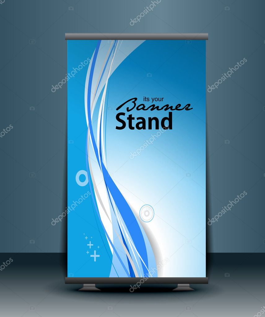 Download image banner stand design template pc android iphone and