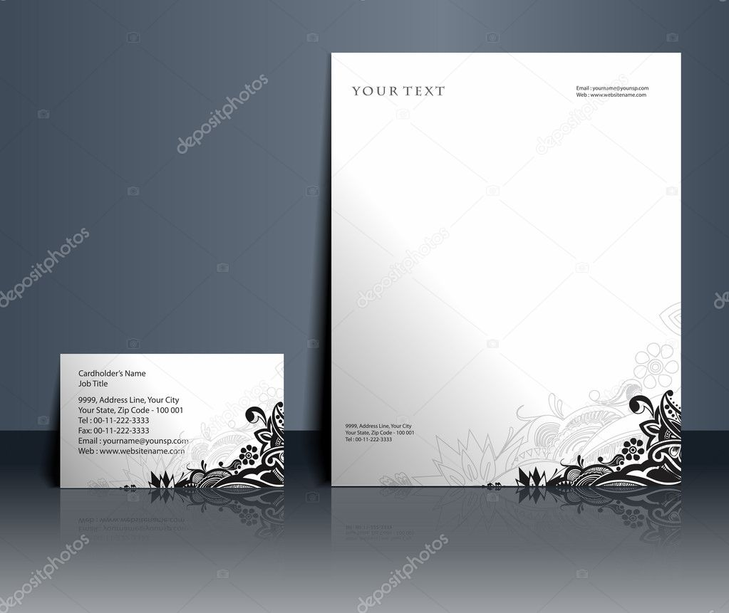Business style templates for your project design, Vector illustration.  — Stock Vector #5735951