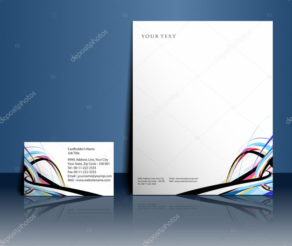 Business style templates for your project design, Vector illustration.  — Stock Vector #5735966