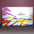 Gift card design - Stock Vector