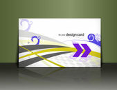 Diseño de tarjetas de regalo — Vector de stock