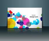 Design de cartão de presente — Vetor de Stock