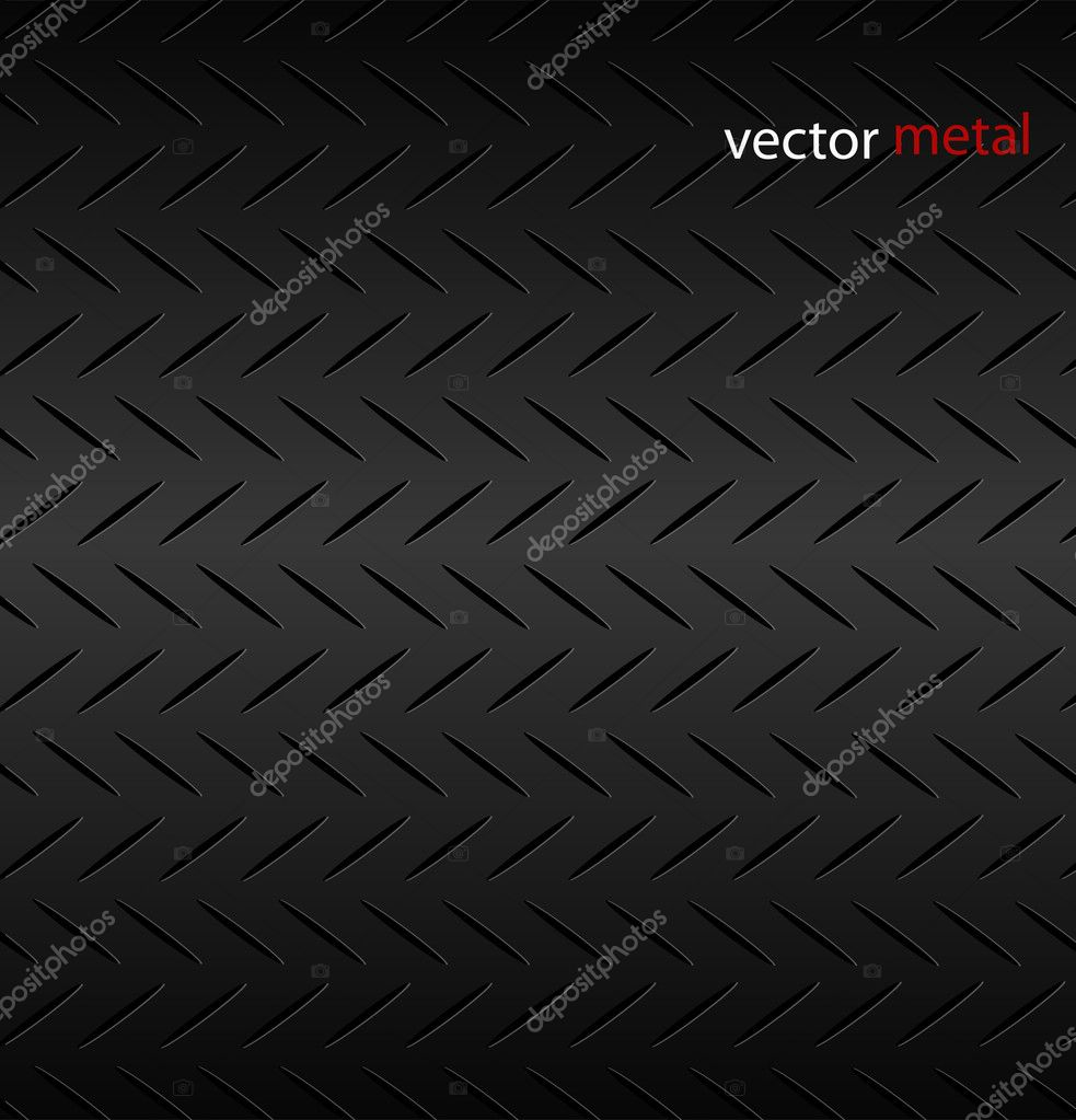 Fluted metal texture pattern. Vector Illustration.  — Stock Vector #5740623