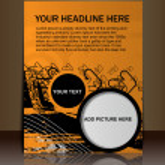 Flyer/Poster design — Stock Vector #6266312