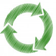 Royalty-Free Stock Vektorfiler: Recycle symbol