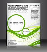 Affiche / flyer design — Vecteur