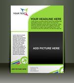Poster/flyer design — Stock Vector