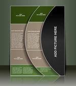 Flyer/Poster design — Stock Vector