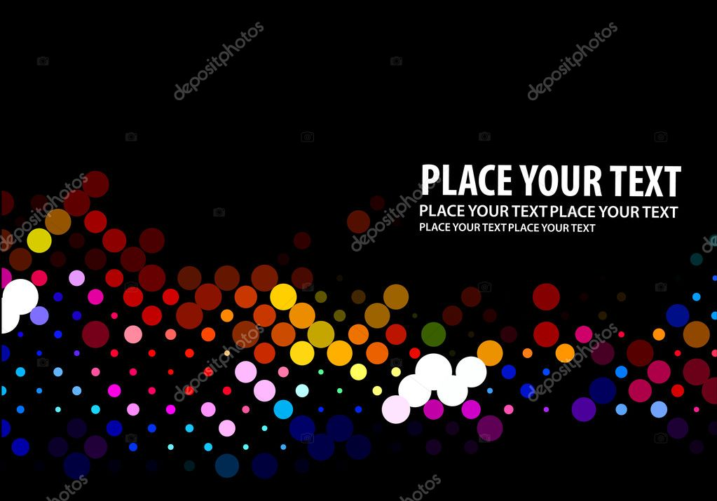 Colorful halftone circle background. vector illustration. — Stock Vector #6265132