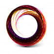 Abstract colorful circle banner — Stock Vector