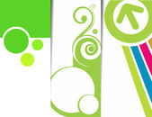 Abstract banner design — Stockvektor