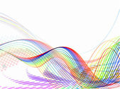 композиция фон абстрактный волна — Cтоковый вектор