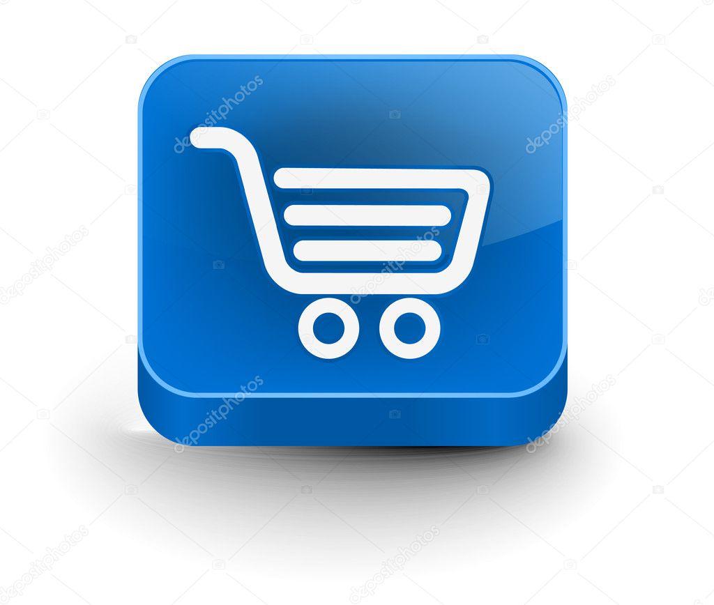 购物网站图标 — 图库矢量图片 #6275633
