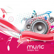 Royalty-Free Stock Vector Image: Abstract musical background