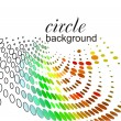 Stock Vector: Abstract circle background