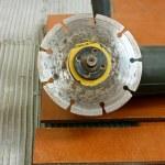Angle grinder — Stock Photo #5748928