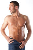 Male with strong upper body — Stock Photo